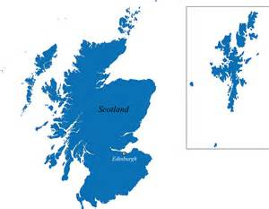 Scotland Blank Map by Scotland Map With Cities Blank Outline Map Of Scotland