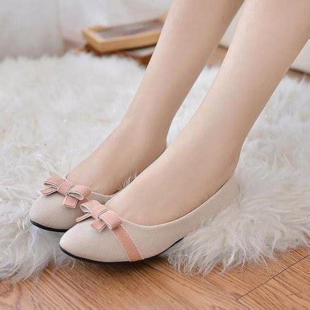 Sepatu Cewek Terbaru Sepatu Flatshoes K38 flat shoes si nyaman yang dan keren ide model busana