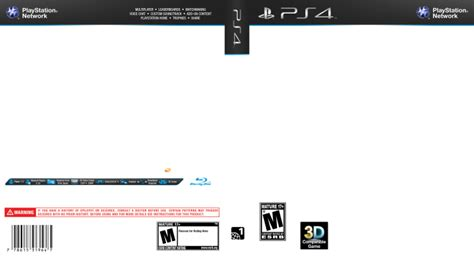 ps2 cover template playstation 4 template