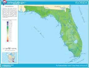 florida river map map of florida lakes streams and rivers