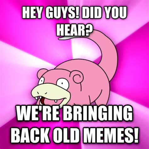 Slowpoke Meme Generator - livememe com slowpoke