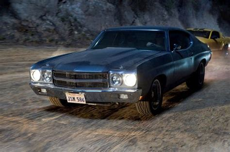 fast and furious car list chevrolet chevelle in fast and furious photo 20