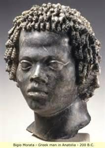 The aegean fall of the black civilizations