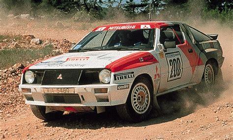 mitsubishi starion rally car mitsubishi starion 4wd rally gr b prototype rally
