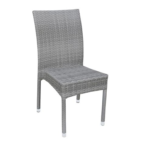 sedie rattan a80e sedia per giardino in alluminio e simil rattan