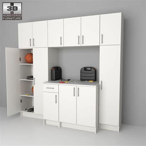 Furniture Garage by Garage Furniture 02 Set 3d Model Humster3d