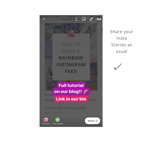 tutorial insta story how to put insta stories under your instagram bio full