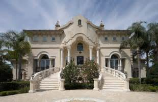 Wood Capitals And Corbels Classical Italian Palladian Mediterranean Luxury Villa