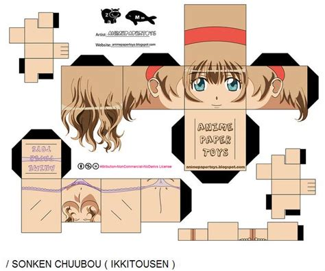 Anime Paper Crafts - paper crafts anime