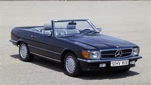 Mercedes R107 Sl The Mercedes R107