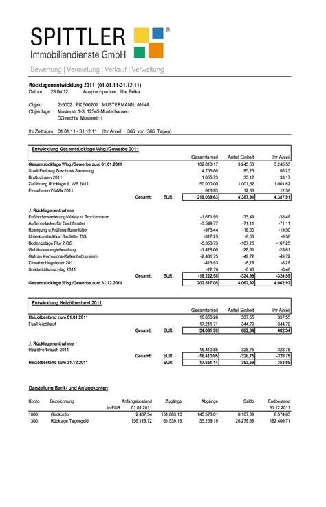 Kostenlose Vorlage F R Nebenkostenabrechnung verwaltung spittler immobiliendienste gmbh