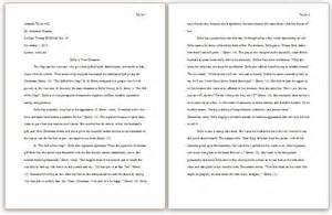 Mla Essay Heading by Mla Essay Headings