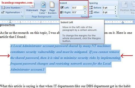 microsoft word page layout side by side microsoft office word 2007 learn the page layout tab in ms