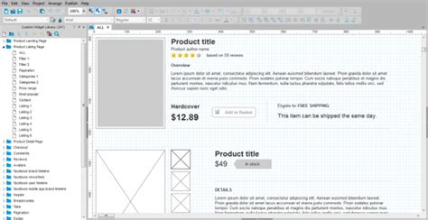 axure design pattern library v2 0 10 most useful axure widgets and libraries ewebdesign