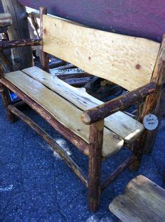 cedar log bench for the bus stop for the home pinterest chainsaw carved benches rustic furnishings pinterest chainsaw bench and log