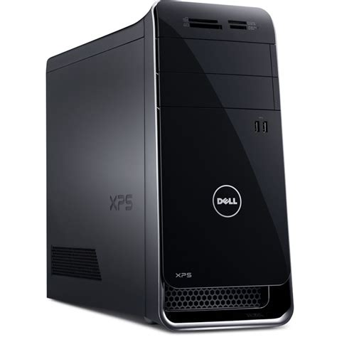 dell desk top computer dell xps 8700 desktop computer black x8700 1884blk b h photo