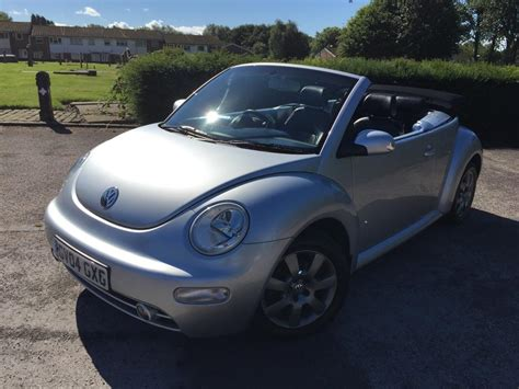 all car manuals free 2004 volkswagen new beetle parental controls used 2004 volkswagen beetle 2 0 convertible 2dr petrol manual 211 g km 115 bhp for sale in