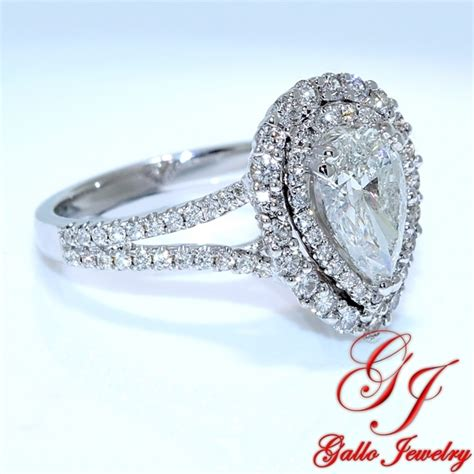 eng01233b halo pear shape engagement ring