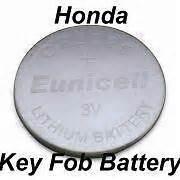 Honda Civic Remote Battery Honda Key Fob Remote Battery Cr2025 Accord Cr V Civic