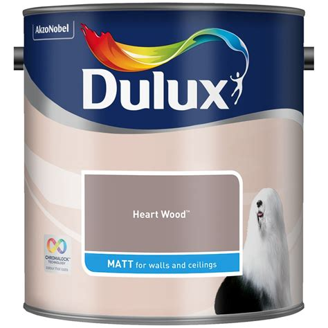 dulux matt paint  heart wood diy paint bm