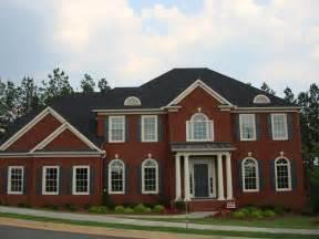 Brick Home Designs New Brick Home In Dallas With Full Basement Atlanta New