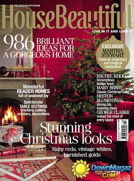 beautiful home design magazines house beautiful uk december 2013 january 2014
