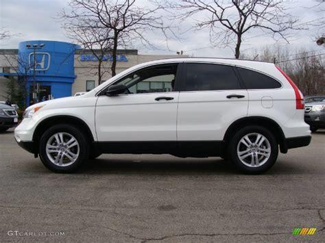honda crv white taffeta white 2011 honda cr v ex 4wd exterior photo