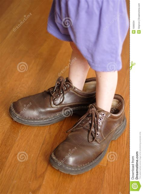 shoes for with big big shoes to fill stock photo image of fill child