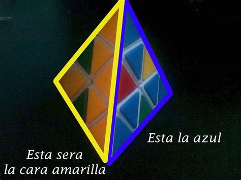 tutorial rubik piramid tutorial como resolver pyraminx rubik taringa