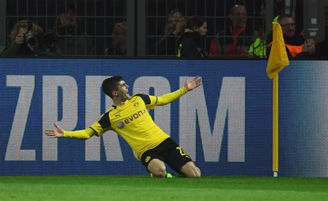 christian pulisic mls borussia dortmund s christian pulisic playing in major