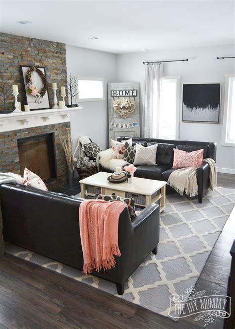 black blush pink valentines day home decor ideas diy
