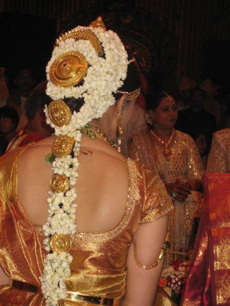 south indian wedding hairstyles for long hair   Bridal