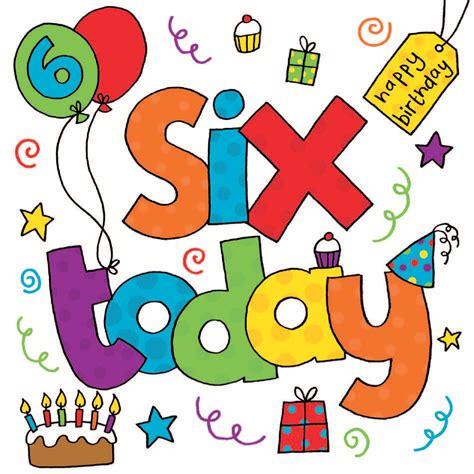 6 Birthday Card cards birthday cards