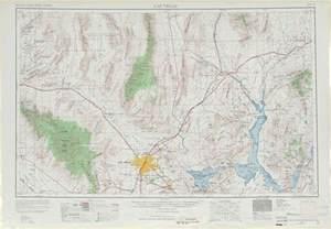 las vegas topographic maps nv az usgs topo quad