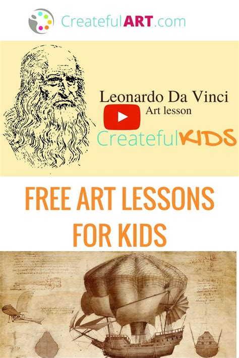 leonardo da vinci biography for elementary students the 25 best art history projects for kids ideas on