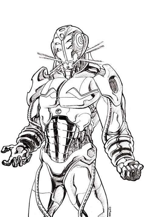 coloring page ultron age of ultron coloring book ultron face coloring pages