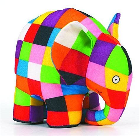 Elmer Patchwork - new elmer the elephant plush elmer patchwork