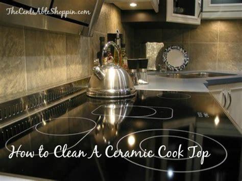 how to clean cooktop ceramic how to clean a ceramic cooktop the centsable shoppin