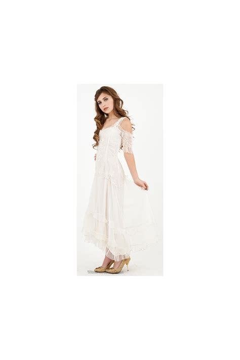 venetian wedding dress  cream  nataya