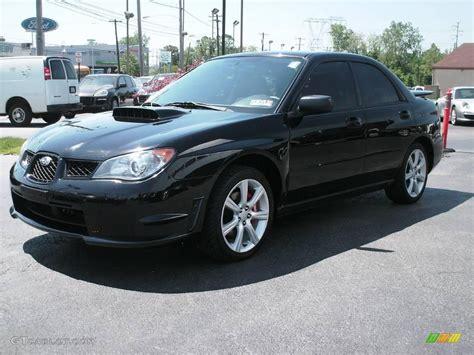 subaru black wrx 2006 obsidian black pearl subaru impreza wrx sedan