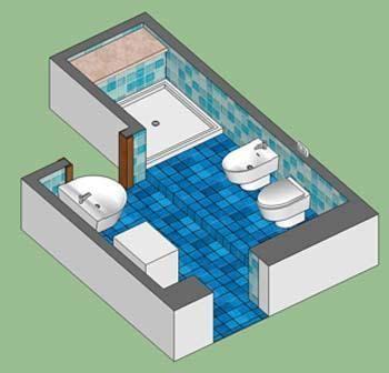 il pavimento di un locale a forma rettangolare guasti da verificare