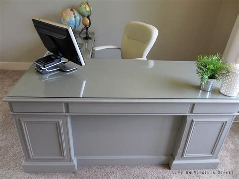 diy executive desk my office desk makeover is complete on virginia