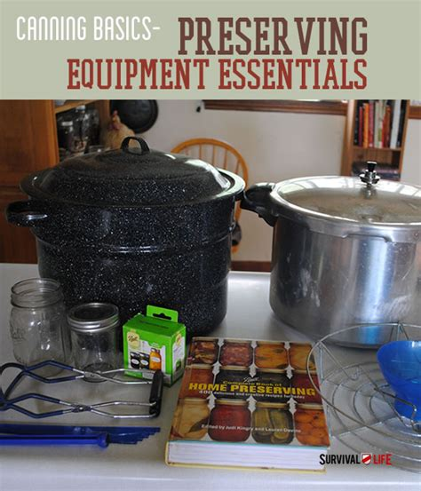 home canning supplies the equipment essentials