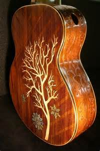 handmade blueberry quot winter quot acoustic guitar by blueberry