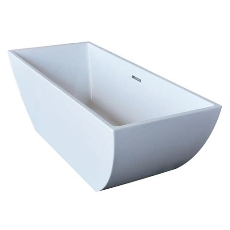 freestanding rectangular bathtub freestanding acrylic rectangular soaking bathtub