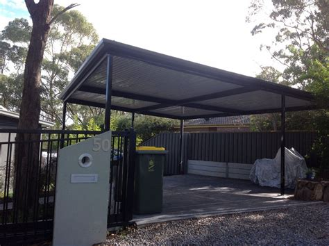 free standing flat carport all type roofing