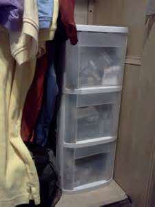 Rv Closet Organizer by Closet Storage Drawers Rv Tip Of The Day