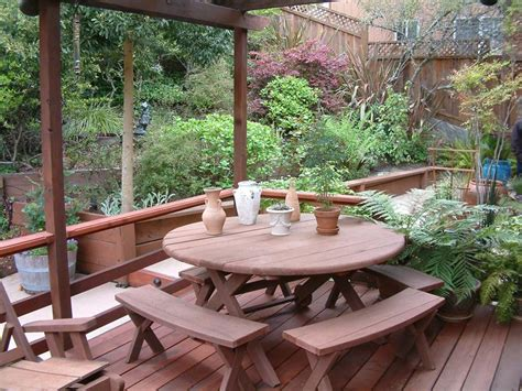 Redwood Patio Set by Patio Furniture Redwood Patio Furniture