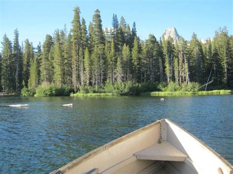 Lake Mamie Cabins by Looking At Mammoth Mtn From Dock Picture Of Wildyrie