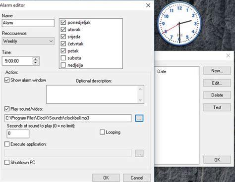 pc alarm clock software  windows